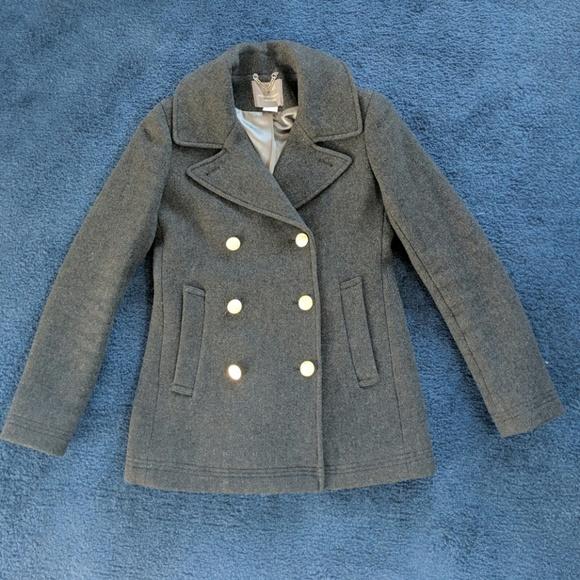 J. Crew Jackets & Blazers - J crew stadium cloth double breasted coat size 0